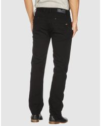 DIESEL - Black Casual Pants for Men - Lyst