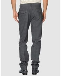 Etro | Gray Flat-front Trousers for Men | Lyst