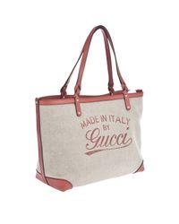 Gucci Natural Craft Medium Tote