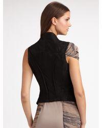 Improvd | Black Leather Vest | Lyst