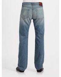 J Brand - Blue Walker Straight-leg Jeans/champ for Men - Lyst