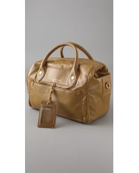 Marc By Marc Jacobs Brown Francesca Leather Tote