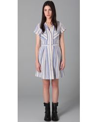 Rag & Bone | Blue The Monterrey Dress | Lyst