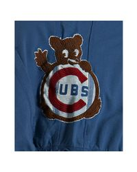 Red Jacket | Blue Royal Cotton Terry Chicago Cubs Zip Hoodie for Men | Lyst