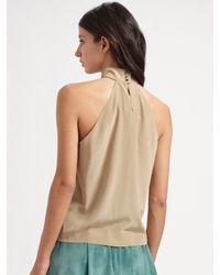 Vena Cava | Green Monarchy Silk Crepe Skirt | Lyst