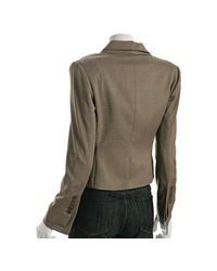 BCBGMAXAZRIA | Gray Tart Layered Nika 2-button Blazer | Lyst