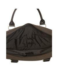 Ben Sherman - Brown Canvas Laptop Messenger Bag for Men - Lyst