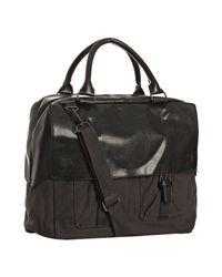 Ben Sherman - Brown Dark Taupe Canvas Hunt Weekender Bag for Men - Lyst