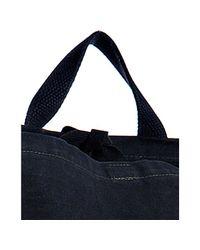 Comme des Garçons - Blue Black Cotton Cross Body Pocket Bag for Men - Lyst