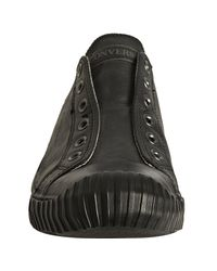 Converse | Black Leather Bosey Slip-on Sneakers for Men | Lyst