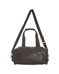 Dolce & Gabbana - Brown Leather Duffel Bag for Men - Lyst