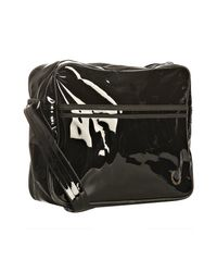 Fred Perry - Black Transparent Messenger Bag for Men - Lyst