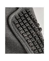 Gryphon - Gray Grey Cotton Studded Lapel Blazer - Lyst