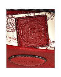 Lancel - Red Leather Angelina Shoulder Bag - Lyst