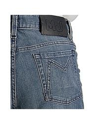 Marc By Marc Jacobs - Blue Medium Wash Charlie High Rise Flare Jeans - Lyst