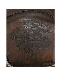 Mark Nason | Dark Brown Burnished Leather Davis Loafers for Men | Lyst