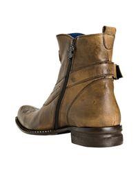 Mark Nason | Rock Lives Brown Leather Dreux Ankle Boots for Men | Lyst