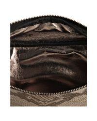 MICHAEL Michael Kors - Natural Python Embossed Leather Belt Bag - Lyst