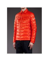 Moncler Orange Gregoire Jacket for men