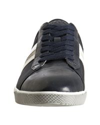 Prada | Blue Sport Navy Nylon Suede and Leather Trim Sneakers for Men | Lyst