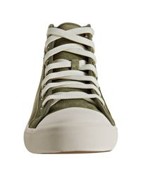 Ralph Lauren | Green Olive Suede Dominic High-top Sneakers for Men | Lyst