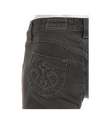 Siwy - Brown Clay Stretch Hannah Cropped Skinny Leg Jeans - Lyst