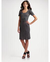 Vena Cava | Gray Cross-waist Jersey Dress | Lyst