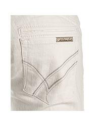 William Rast | Snow White Stretch Savoy Flare Leg Trouser Jeans | Lyst