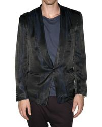 Paul Smith | Black Acetate & Viscose Iridescent Jacket for Men | Lyst