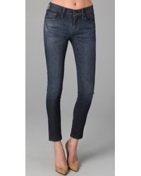 Citizens of Humanity - Blue Thompson High Rise Skinny - Lyst