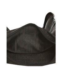 Fendi - Black Zucca Nylon Small Messenger Bag - Lyst