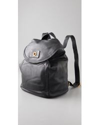 Marc By Marc Jacobs - Black Totally Turnover Backpack - Lyst