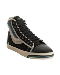 PUMA | Dassler For Black Suede Wellengang Mid Cap Toe Sneakers for Men | Lyst