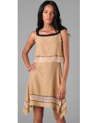 Rag & Bone - Natural Silk Strappy Dress - Lyst