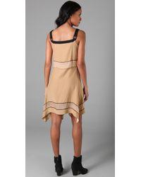 Rag & Bone | Natural Silk Strappy Dress | Lyst