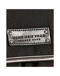 Marc New York - Black Gabardine North-south Messenger Bag for Men - Lyst