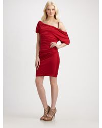 Catherine Malandrino | Red Chain Strap Dress | Lyst