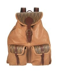 Jas MB - Natural Bomber Backpack - Lyst