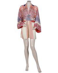 Issa - Multicolor Mosaic Print Kimono Top - Lyst