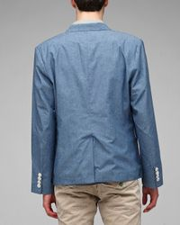 General Assembly | Blue Chambray Blazer for Men | Lyst