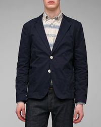 General Assembly - Blue Lightweight Twill Blazer for Men - Lyst