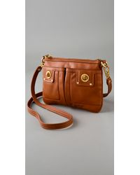 Marc By Marc Jacobs | Brown Totally Turnlock Percy Messenger Bag | Lyst