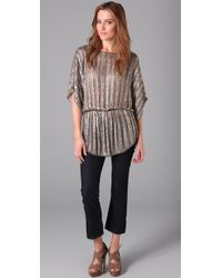Parker | Gray Batwing Tunic | Lyst