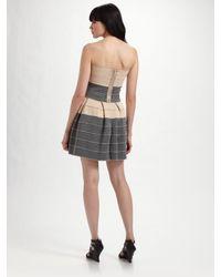 Pleasure Doing Business - Gray Petti Pleated Dress - Lyst