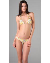 Salt Swimwear | Yellow Lola Bikini Top | Lyst