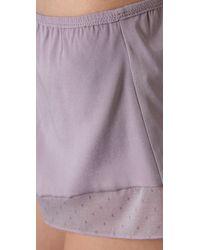 3.1 Phillip Lim   Purple Tap Pants   Lyst