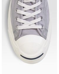 Converse | Gray Jack Purcell Johnny High-tops for Men | Lyst