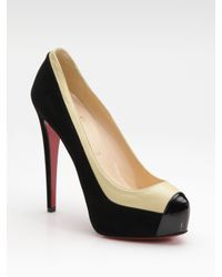 Christian Louboutin | Brown Roland Pumps | Lyst