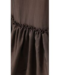 Twelfth Street Cynthia Vincent | Brown Drawstring Waist Long Skirt | Lyst