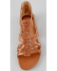 UGG - Brown Nayami Gladiator Sandals - Lyst